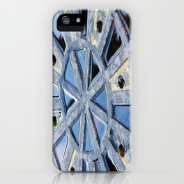Circle Abstract Art iPhone Case