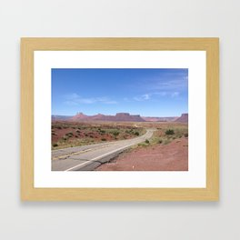 TO MOAB Framed Art Print