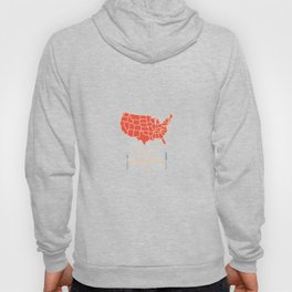 Nice to Meat You USA Map Hoody