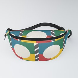 Tropical Geometric Fanny Pack