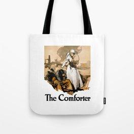 The Comforter -- Red Cross Nurse Tote Bag