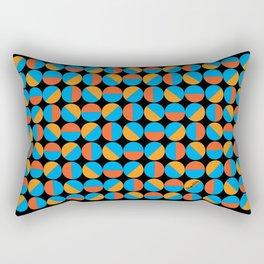45's Orange/Blue Rectangular Pillow
