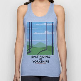 East Riding of Yorkshire Unisex Tank Top
