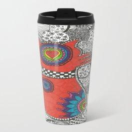 Kitty-tangle Travel Mug