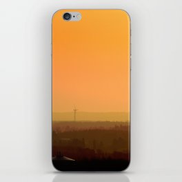 Sunrise Hills iPhone Skin