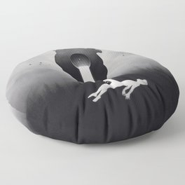 Glimpse of Light Floor Pillow