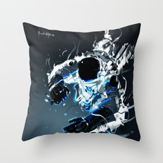 Gravity Vortex Throw Pillow