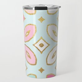 MORROCCAN TILE - ALEXA SPRING MINT Travel Mug