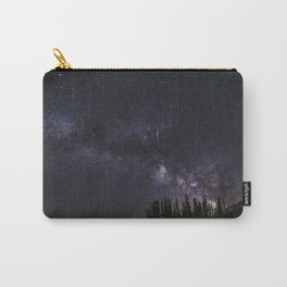"""""""Meteorite"""". Milky way at the mountains Carry-All Pouch"""