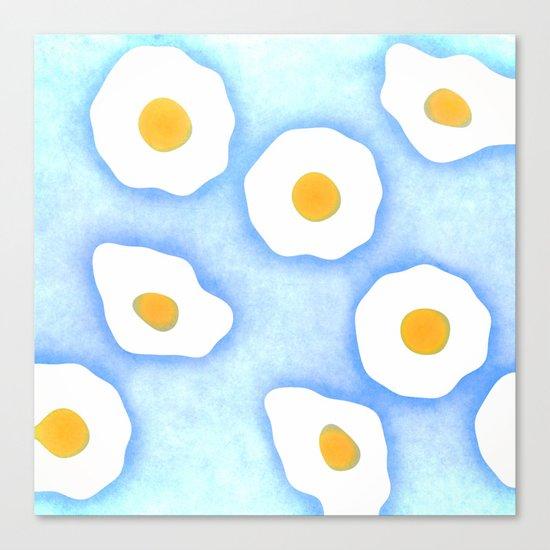 Egg pattern Canvas Print