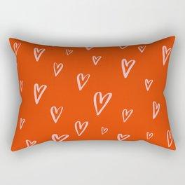 Heart Doodles 2 Rectangular Pillow