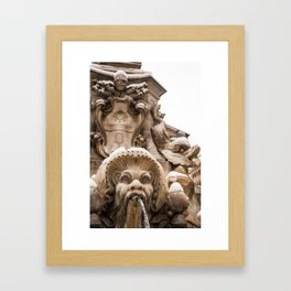 Untitled (Fountain of the Four Rivers) Framed Art Print