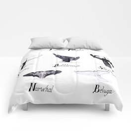 Toothed Whales Comforters