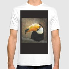 It's all about the Beak Mens Fitted Tee White MEDIUM