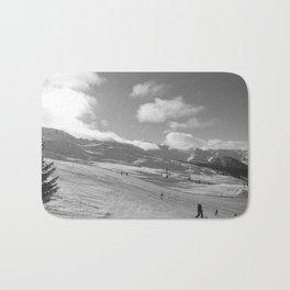 Mountain Landscape, Alps Bath Mat
