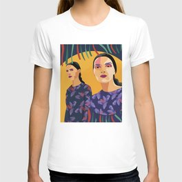 Womanity - The inner other one - Model#1.3 - fashion illustration T-shirt