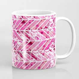 Cherry Bomb Chevron Coffee Mug