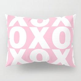 XOXO - Light Pink Pattern Pillow Sham