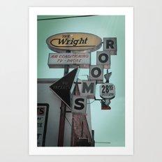The Wright Art Print