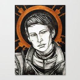 Ladies of Dragon Age: Cassandra Canvas Print