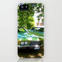 """Sunday Afternoon III"" by ICA PAVON iPhone Case"