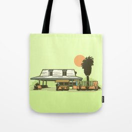 29 Palms Inn Tote Bag