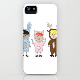 Kids just wanna have fun iPhone Case