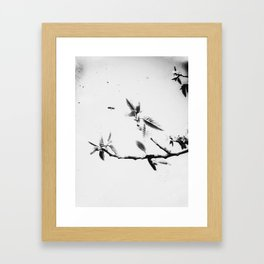 | time fission - or quantum memory, experiment no. one | Framed Art Print