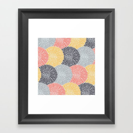 Flower Infusion Framed Art Print