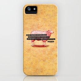 Like Sheep iPhone Case