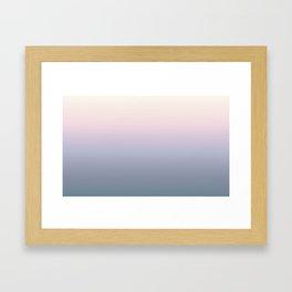 Sunrise Desert Framed Art Print