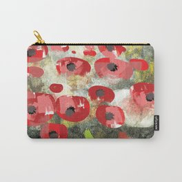 angela's poppies Carry-All Pouch