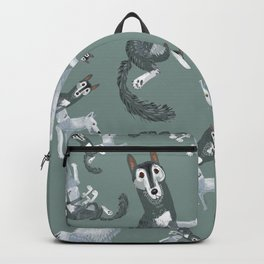 Totem Canadian wolf 1 Backpack