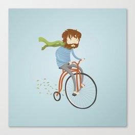 If I had a bike Canvas Print