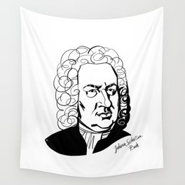 Johann Sebastian Bach Wall Tapestry