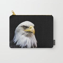 Majestuous Bald Eagle Carry-All Pouch