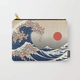 The Great Wave of Chihuahua Carry-All Pouch