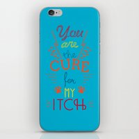 the cure iPhone & iPod Skins featuring The Cure by Rendra Sy