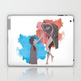 DARLING in the FRANXX Minimalist (Hiro and Zero Two) Laptop & iPad Skin