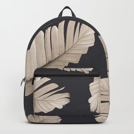 Sepia Banana Leaves Dream #2 #foliage #decor #art #society6 Backpack