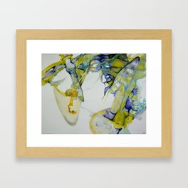 Rotate Out Framed Art Print