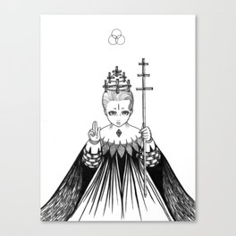 Major Arcana V The Hierophant Canvas Print