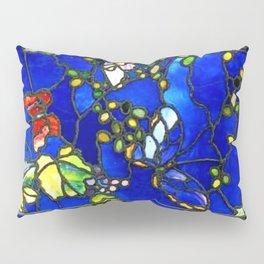 "John La Farge ""Butterflies and Foliage"" window. 1889 (1.) Pillow Sham"