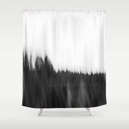 Zeitgefluester NO2 Shower Curtain