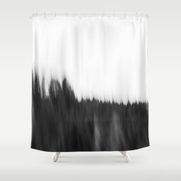 Zeitgefluester NO2 Shower Curtain