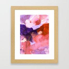 abstract painting V Framed Art Print