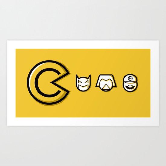 Copyrighteous Art Print