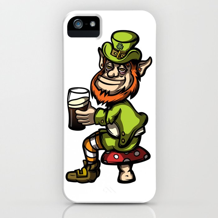 Drunken Leprechaun iPhone Case