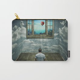 abstract window Carry-All Pouch
