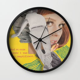 Bon Iver Wall Clock